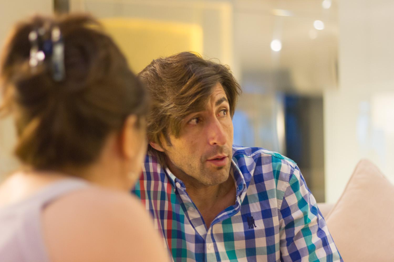 Fernando Ramos en un reportaje para MICINEXIN