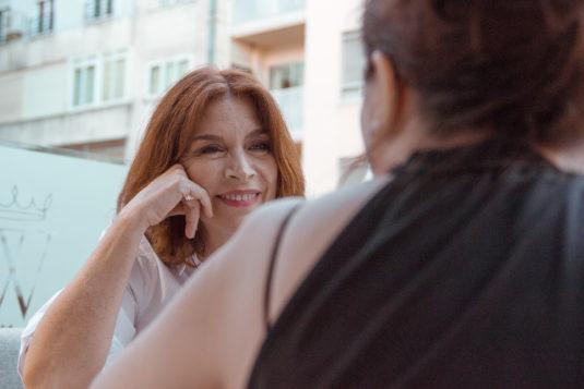 María Casal en un reportaje para MICINEXIN