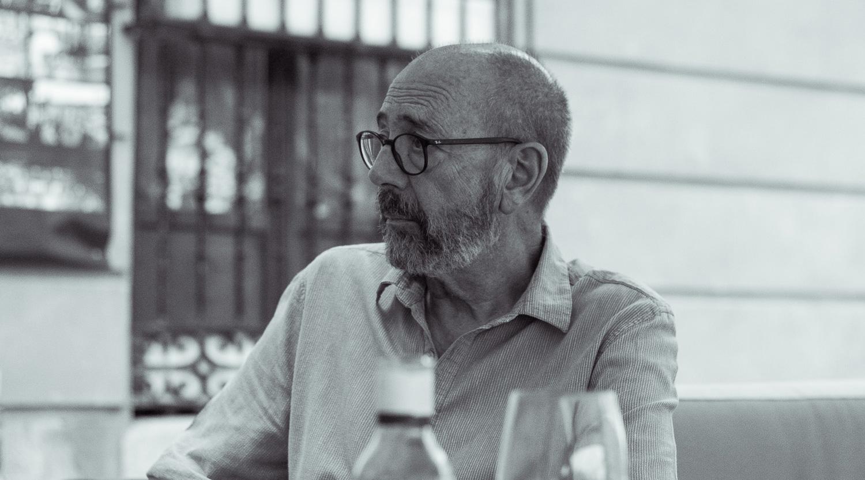 Miguel Rellán en un reportaje para MICINEXIN