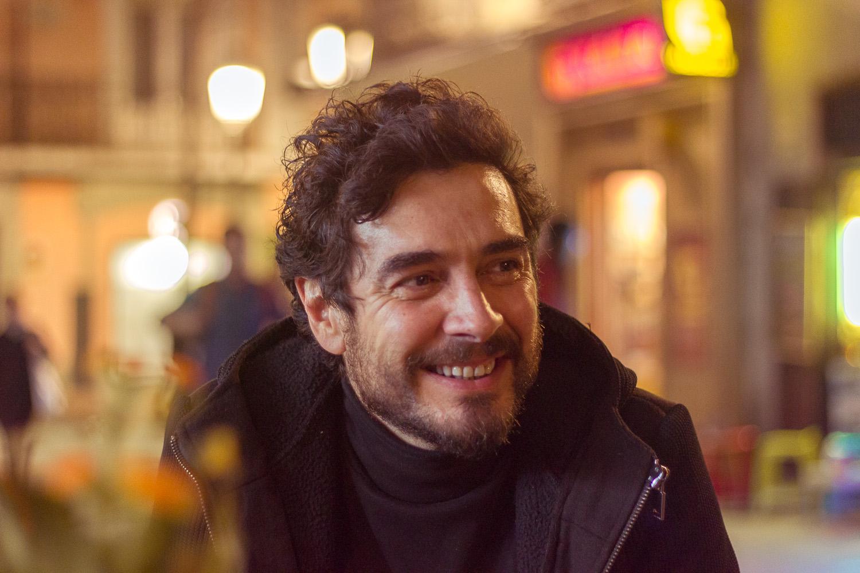 José Manuel Seda en un reportaje para MICINEXIN