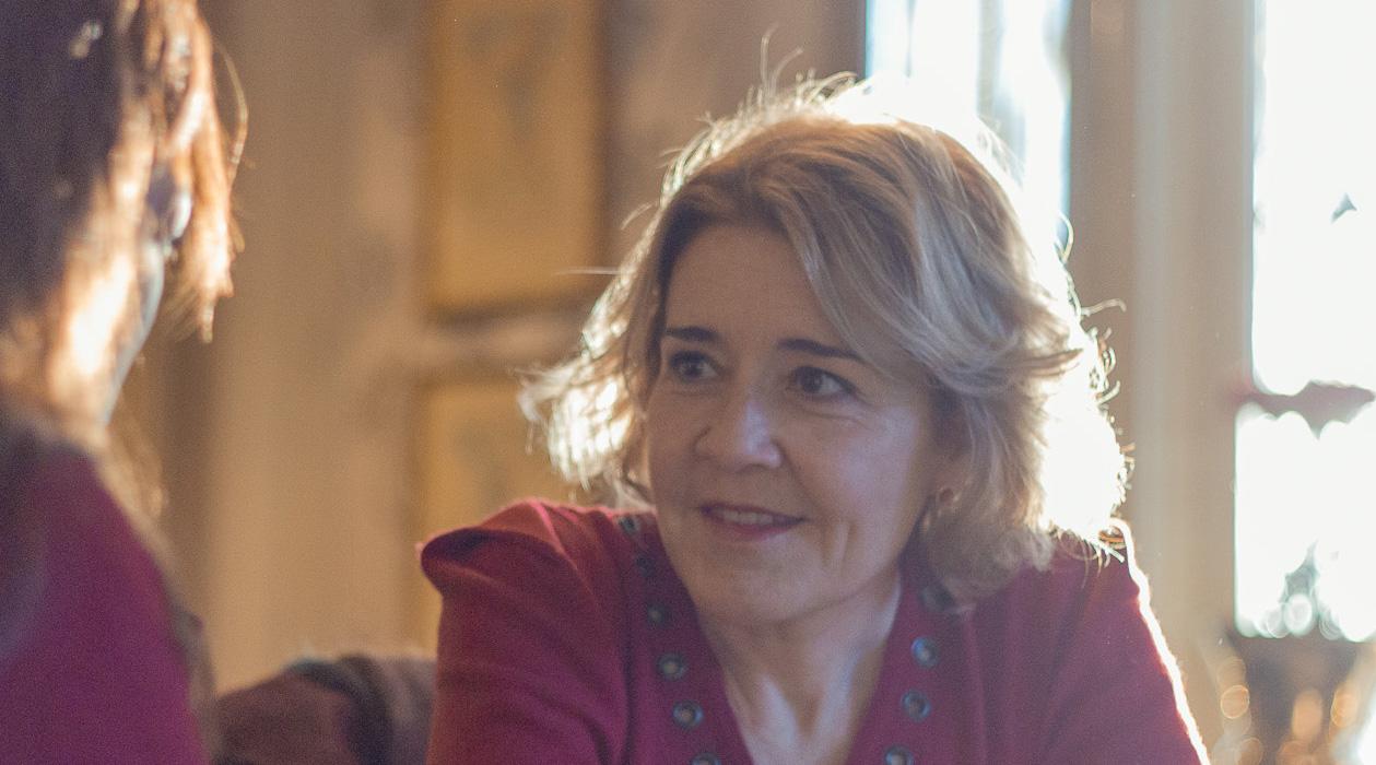 María Pujalte en un reportaje para MICINEXIN