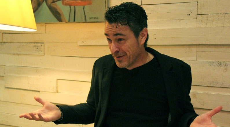 Jaime Pujol en un reportaje para MICINEXIN