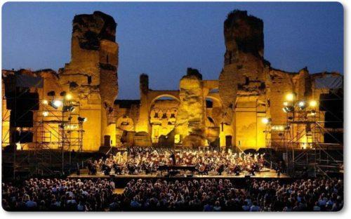 Opera Caracalla Termas de Caracalla