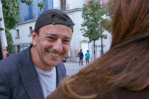 Marcial Álvarez en un reportaje para MICINEXIN, revista de cine
