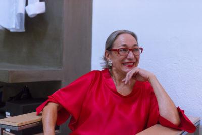 Luisa Gavasa en un reportaje de MICINEXIN, revista de cine
