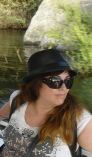 Susana en el reportaje Mis crónicas del Nilo para MICINEXIN