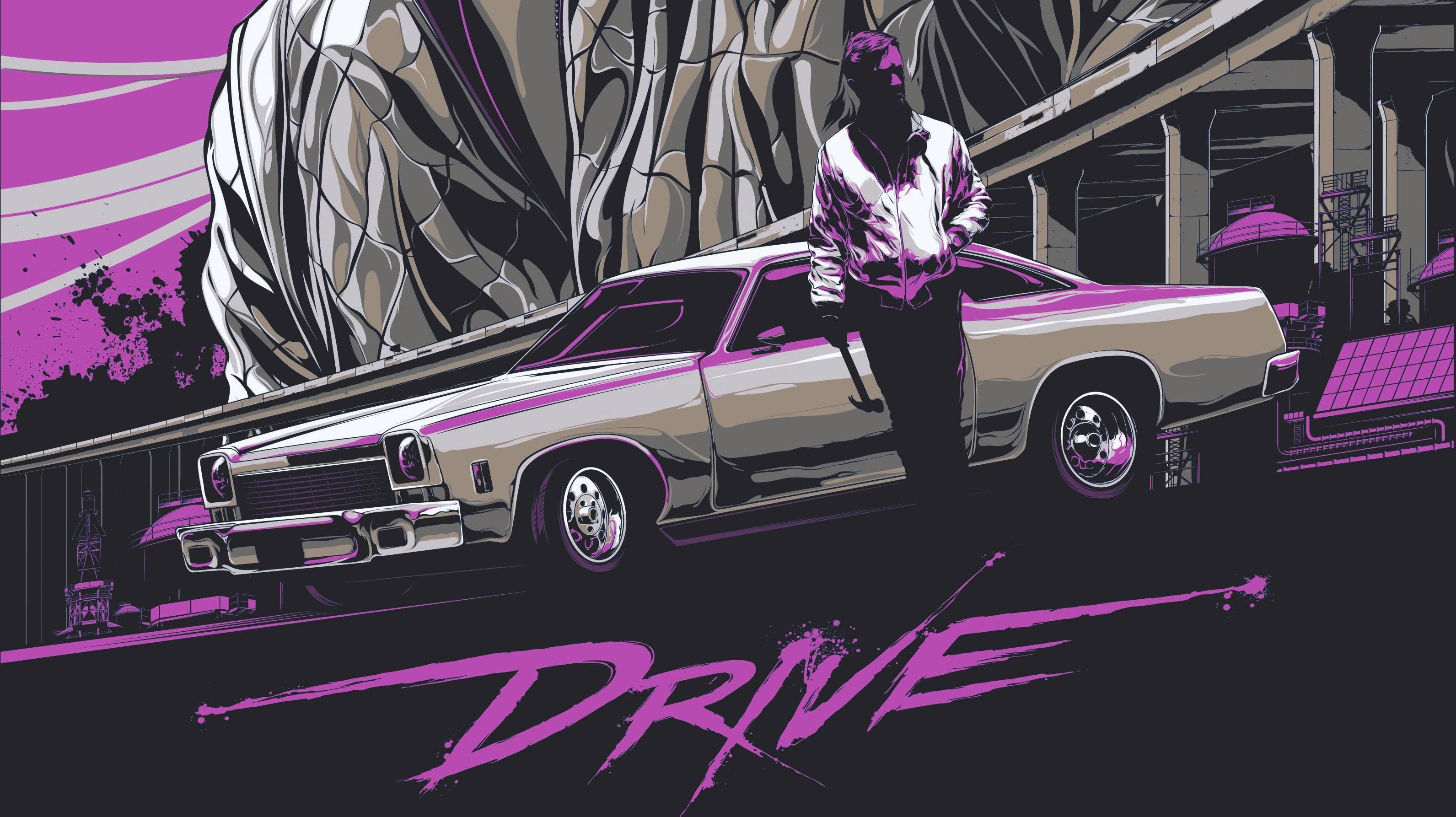 Cartel de Drive en MICINEXIN, revista de cine y espectáculos online